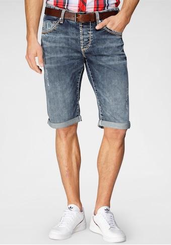 CAMP DAVID Shorts, im Used-Look kaufen