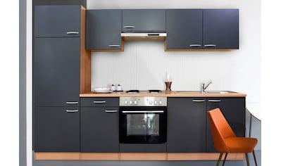 Küchenzeile »Respekta Basic«, mit Edelstahl - Kochmulde, Breite 270 cm kaufen
