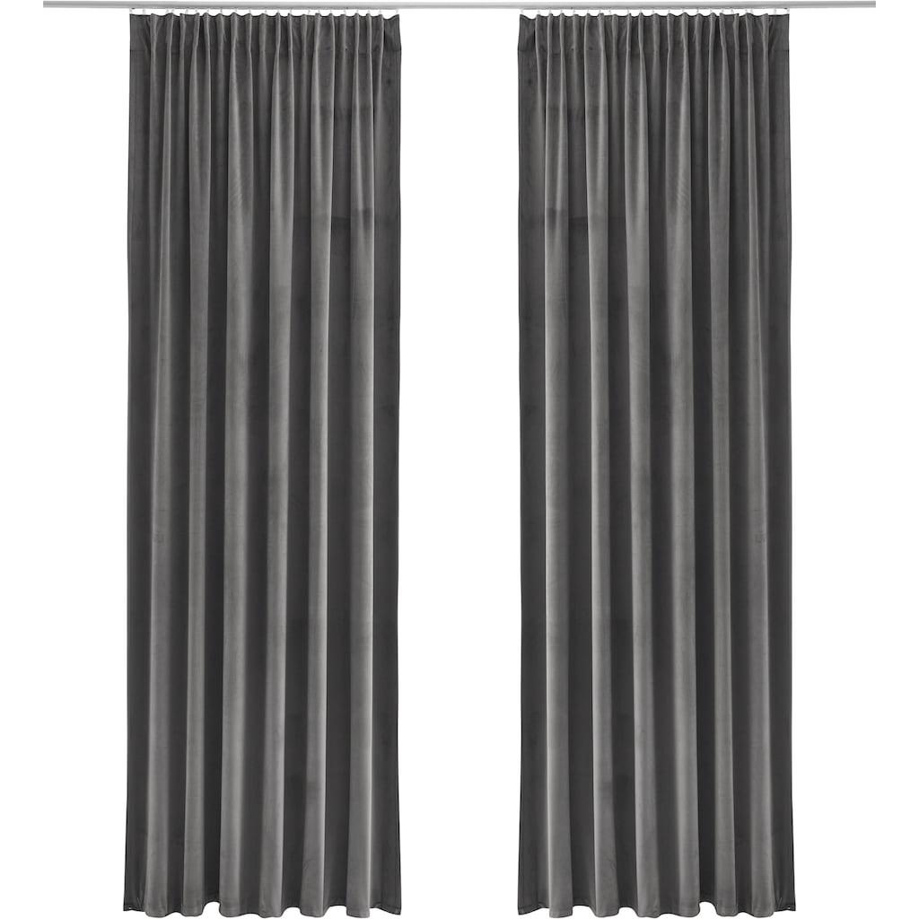 Guido Maria Kretschmer Home&Living Vorhang »SAMT«, blickdicht, monochrom, Samt Optik, basic