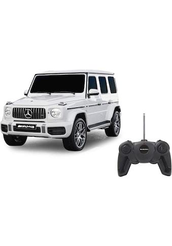 """Jamara RC - Auto """"Mercedes - Benz AMG G63 1:24 27 MHz, weiß"""" kaufen"""