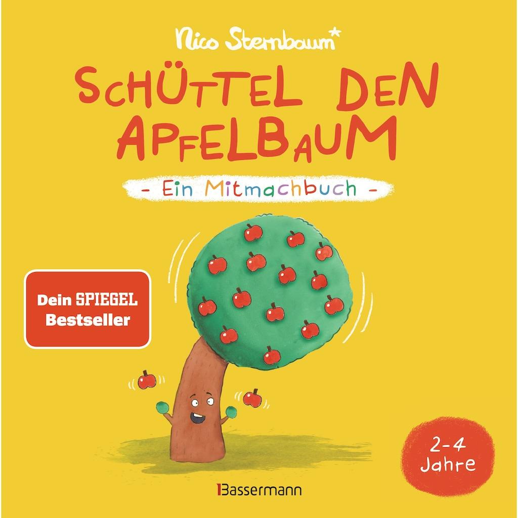 Buch »Schüttel den Apfelbaum - Ein Mitmachbuch. Für Kinder von 2 bis 4 Jahren / Nico Sternbaum«
