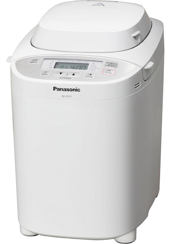 Panasonic Brotbackautomat SD - 2511WXE, 30 Programme, 550 Watt kaufen