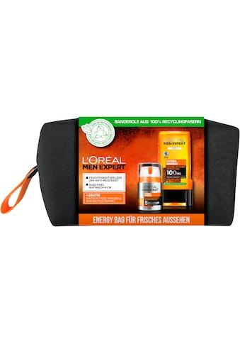L'ORÉAL PARIS MEN EXPERT Hautpflege-Set »Hydra Energy Bag Geschenkset«, (3 tlg.) kaufen