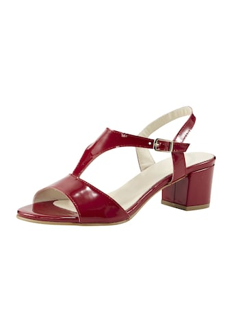 Sandalette in Lack-Optik kaufen
