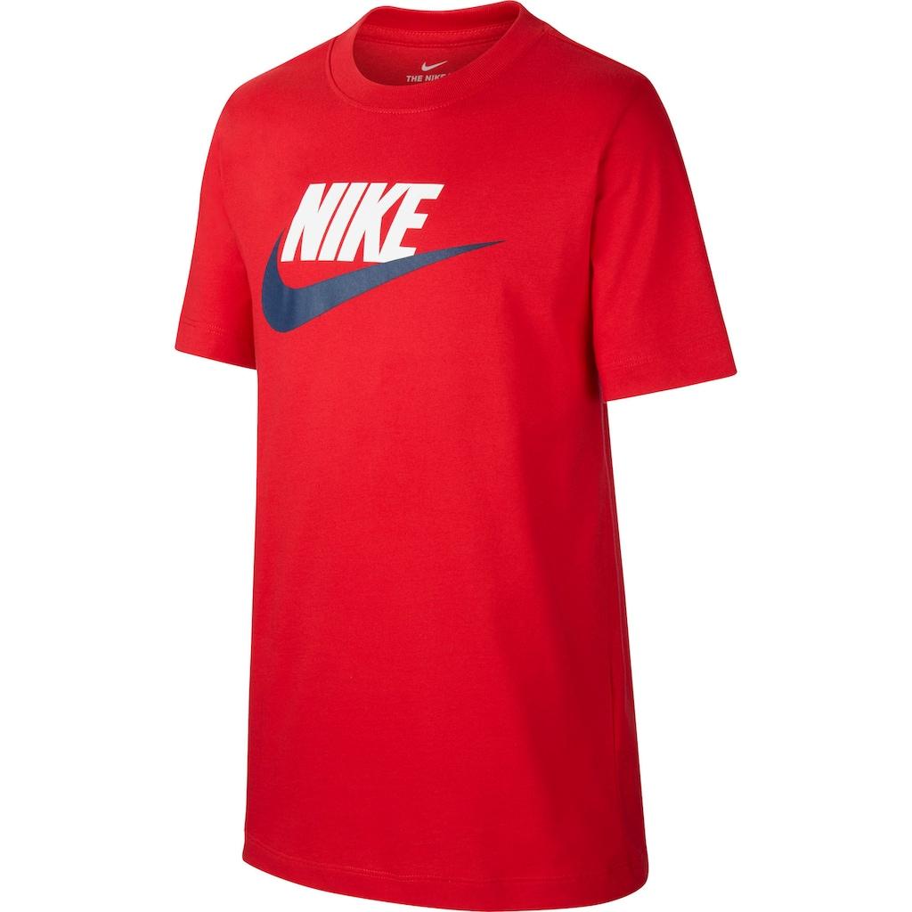 Nike Sportswear T-Shirt »B NSW TEE FUTURA ICON TD«