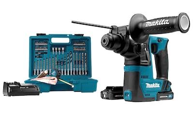 Makita Akku-Bohrhammer »HR140DSAE1«, inkl. 2 Akkus 12V/2Ah, Ladegerät & Zubehör kaufen
