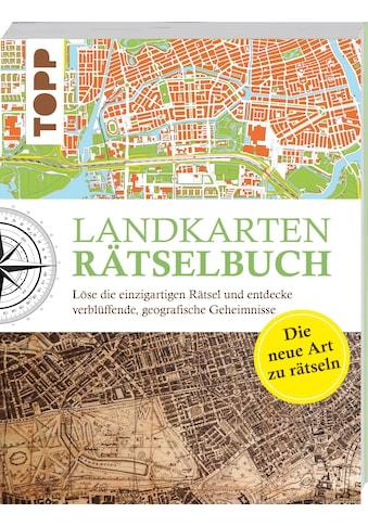 Buch »Landkarten Rätselbuch - die Rätselinnovation / Norbert Pautner« kaufen