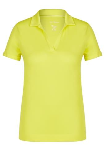 VIA APPIA Sportives T-Shirt mit Umlegekragen kaufen