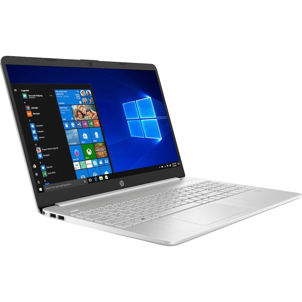 "HP Notebook »15s-fq2226ng«, (39,6 cm/15,6 "" Intel Pentium Gold UHD Graphics\r\n 512 GB SSD), Kostenloses Upgrade auf Windows 11, sobald verfügbar"