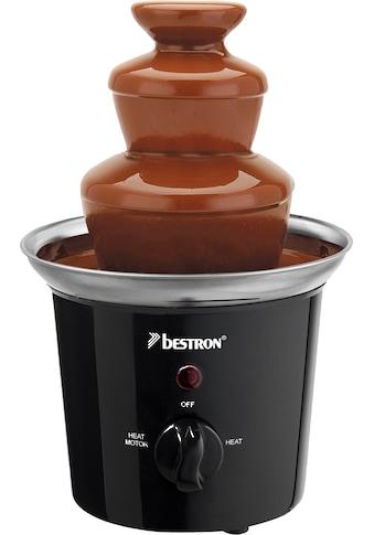bestron Schokoladenbrunnen »Funcooking«, mit 3 Etagen, 60 Watt, Schwarz/Edelstahl kaufen