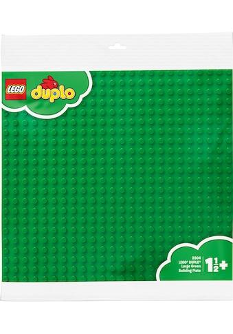 LEGO® Konstruktionsspielsteine »Große Bauplatte, grün (2304), LEGO® DUPLO®«, (1 St.),... kaufen