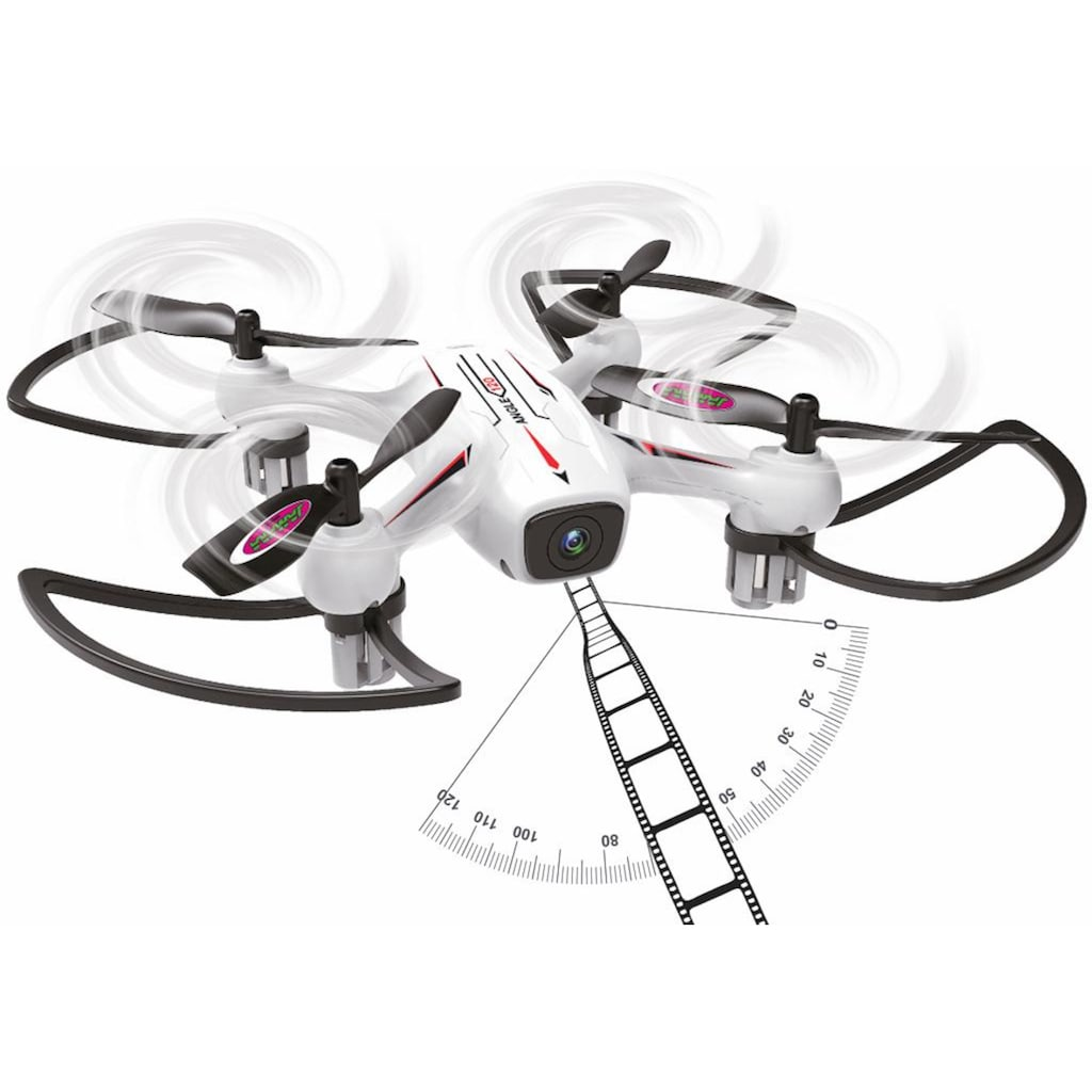 Jamara RC-Quadrocopter »Angle 120 Altitude HD Wifi FPV AHP+, 2,4 GHz«, mit Kamera