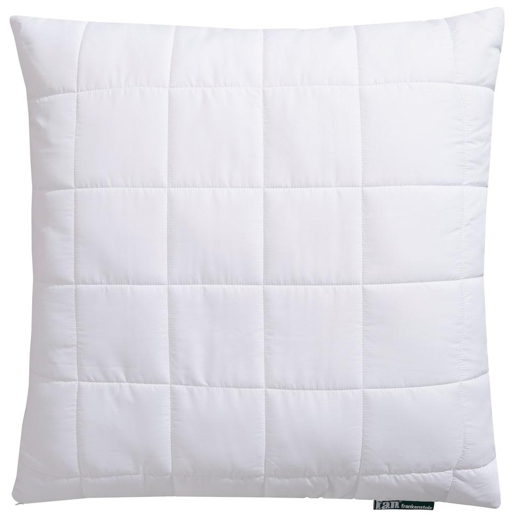 f.a.n. Schlafkomfort Microfaserkissen »Komfort Plus, leichtes, weiches Kissen«, (1 St.), Ideal für den Schwitzer!