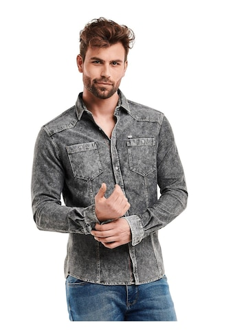 Engbers sportives Jeanshemd slim fit kaufen