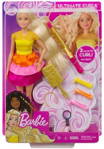Barbie Anziehpuppe »Locken-Style Puppe, blond« kaufen