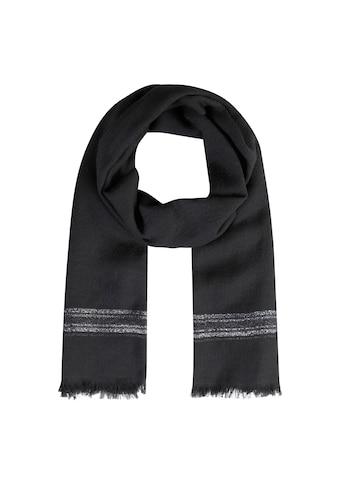 Codello XL - Schal aus Wolle mit edlen Glanzstreifen kaufen