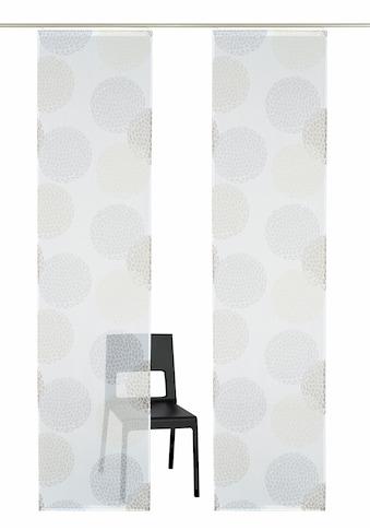 Schiebegardine, »Belem«, my home, Klettschiene 2 Stück kaufen