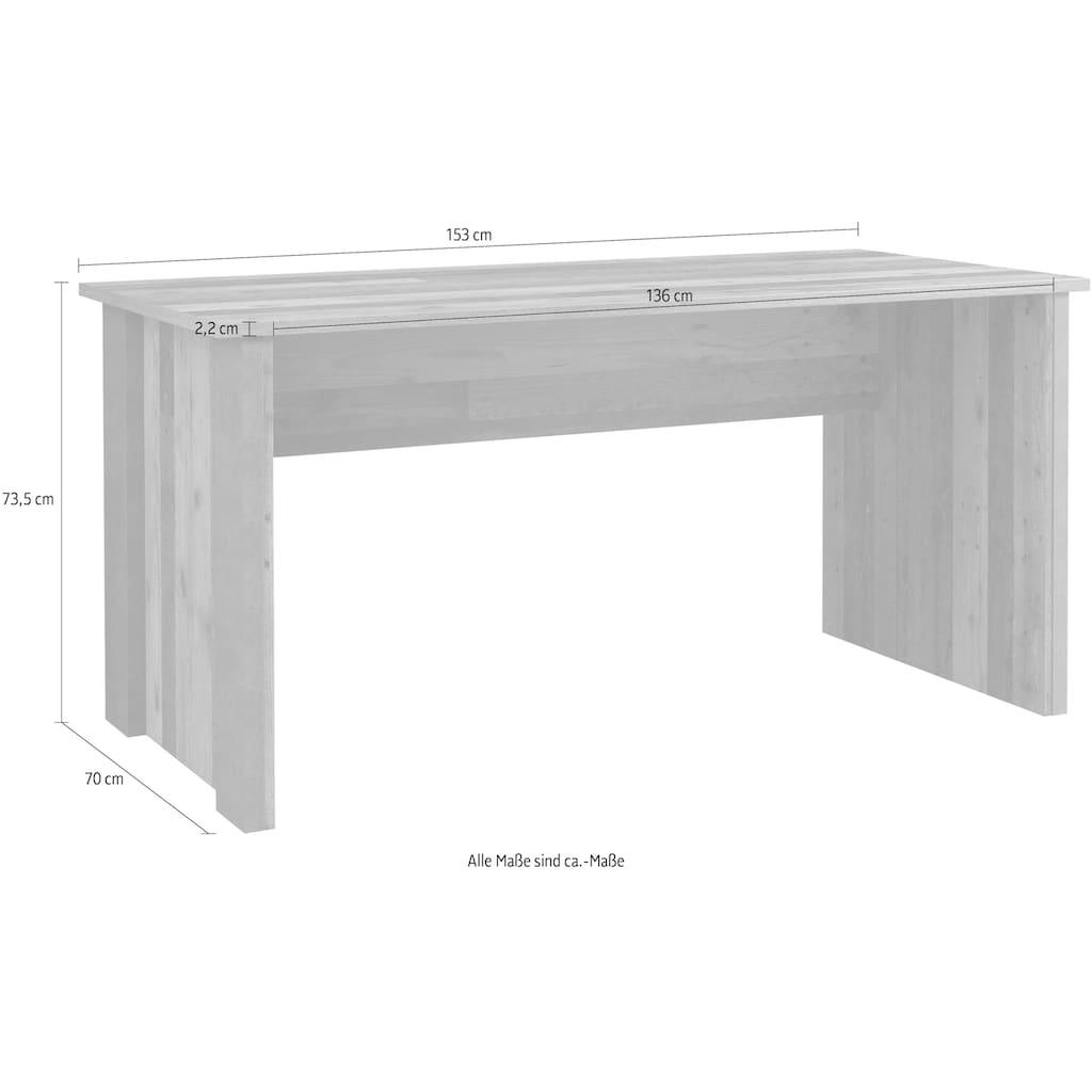 FORTE Schreibtisch »Clif«, Breite 153 cm
