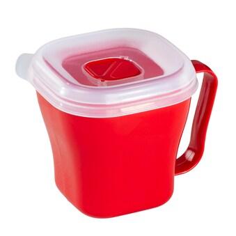Xavax Mikrowellentasse, 0,6 l, Rot »Mikrowellengeschirr« kaufen