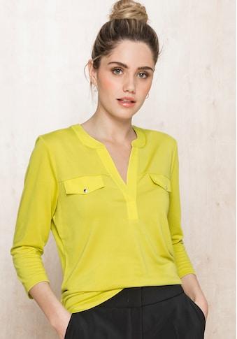 bianca Blusenshirt »ELLY«, in der angesagten Trendfarbe mit 3/4 Arm kaufen