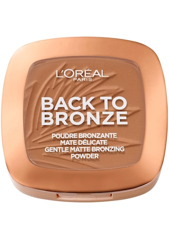 L'ORÉAL PARIS Bronzer-Puder »Back to Bronze« kaufen