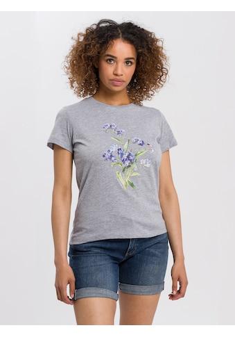 Cross Jeans® T-Shirt »55779«, Floraler Frontprint kaufen