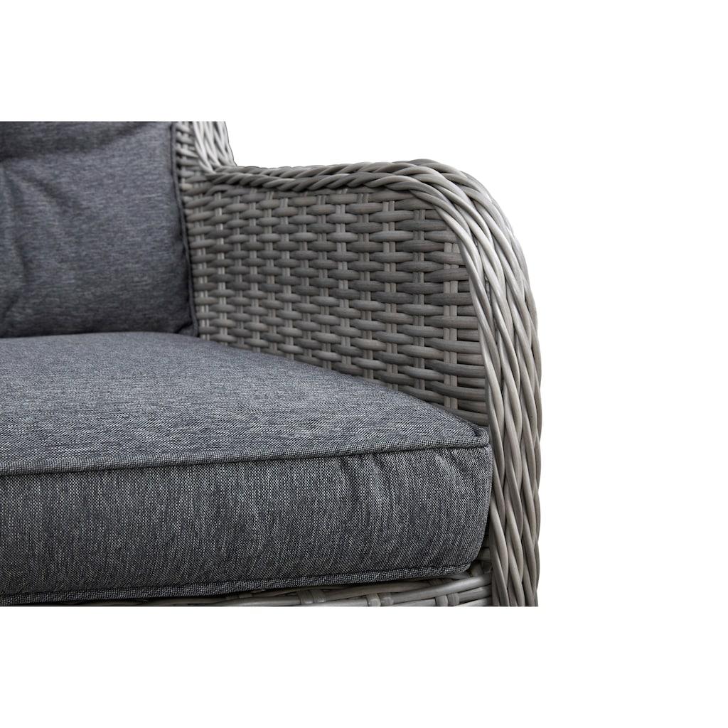 KONIFERA Gartenmöbelset »Menorca«, (25 tlg.), 8 Sessel, Tisch 230x100 cm, Polyrattan