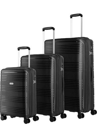 """travelite Trolleyset """"Zenit, schwarz"""", 4 Rollen, (3tlg.) kaufen"""