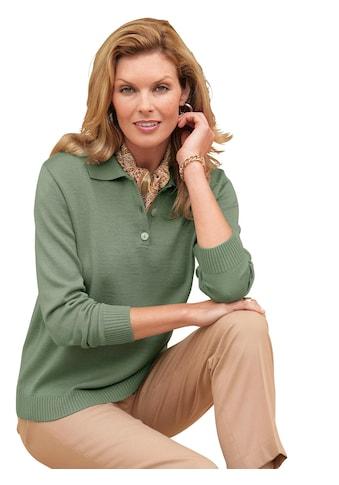 Classic Polopullover mit elastischen Rippbündchen kaufen