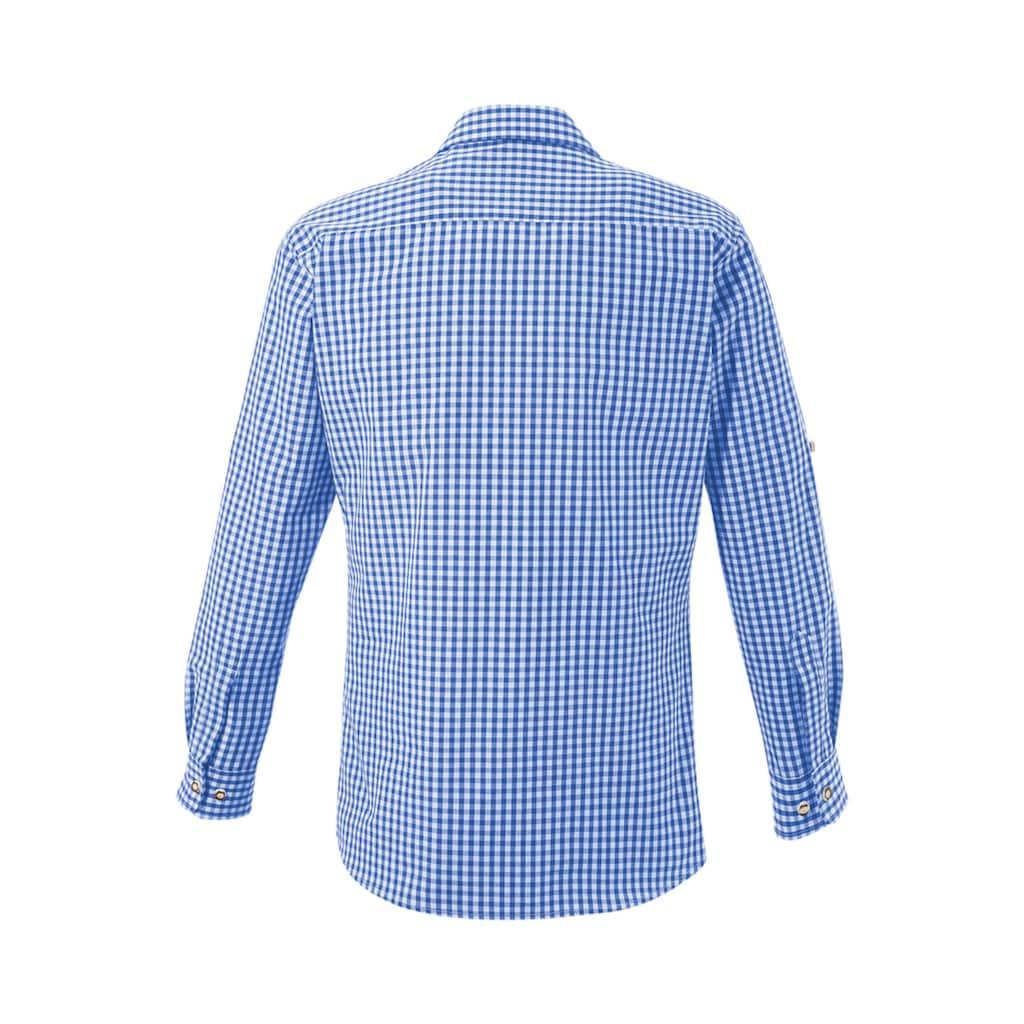 KRÜGER BUAM Trachtenhemd, im Allover Karodesign