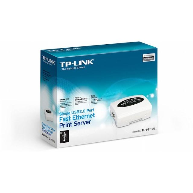 TP-Link Server »TL-PS110U USB2.0 Fast-Ethernet Printserver«