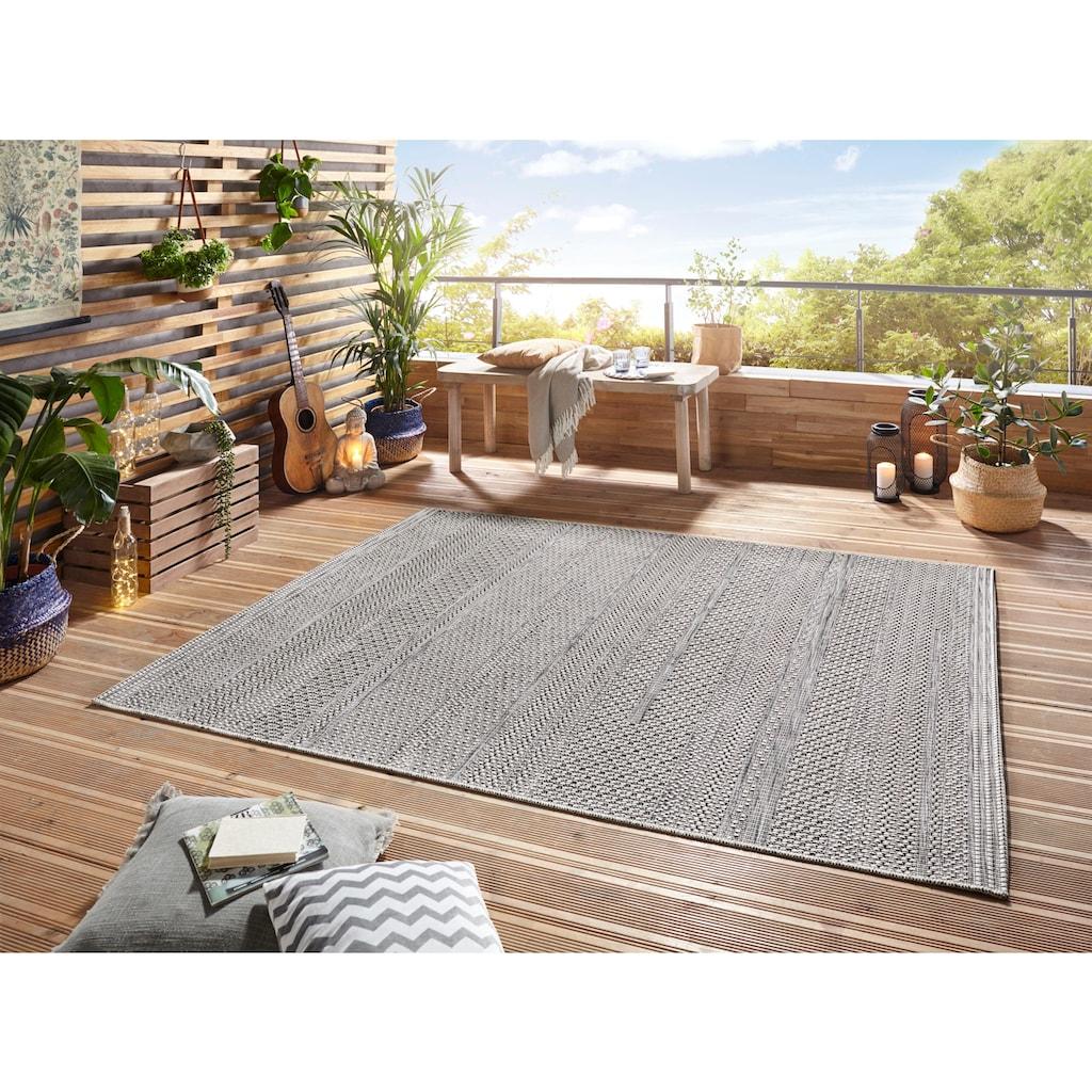 ELLE DECORATION Teppich »Marne«, rechteckig, 4 mm Höhe, In- und Outdoor geeignet, Wohnzimmer