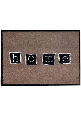 Andiamo Fußmatte »Cellini«, rechteckig, 5 mm Höhe, Schmutzfangmatte, mit Spruch, In-... kaufen