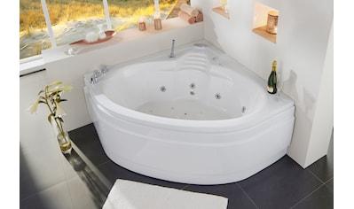 OTTOFOND Whirlpool-Badewanne »St. Lucia«, mit Farblichtscheinwerfer, Schürze und... kaufen