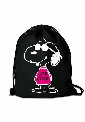 LOGOSHIRT Turnbeutel »Peanuts - Snoopy Joe Cool«, mit lizenziertem Print kaufen