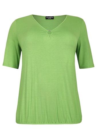 VIA APPIA DUE Feminines T-Shirt mit Ausschnitt-Verzierung kaufen