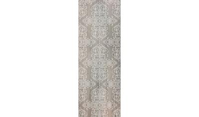 queence Vinyltapete »Muster-Grau-Braun«, Holz, 90 x 250 cm, selbstklebend kaufen