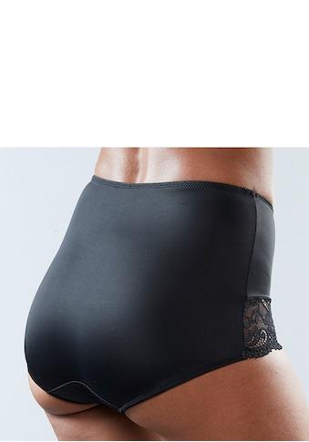Nuance High-Waist-Panty, mit Spitzeneinsätzen kaufen