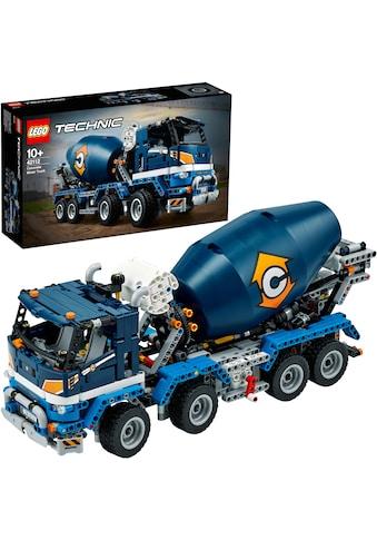 LEGO® Konstruktionsspielsteine »Betonmischer-LKW (42112), LEGO® Technic«, (1163 St.),... kaufen