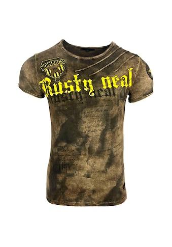 Rusty Neal T-Shirt im auffälligen Design kaufen