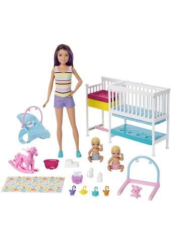Barbie Anziehpuppe »Skipper Babysitters Kinderzimmer-Spielset«, inklusive Puppen kaufen