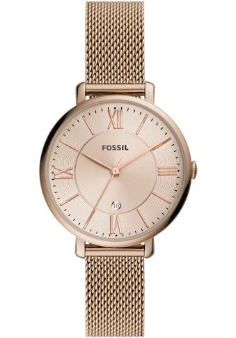 Fossil Quarzuhr »ES5120,JACQUELINE« kaufen