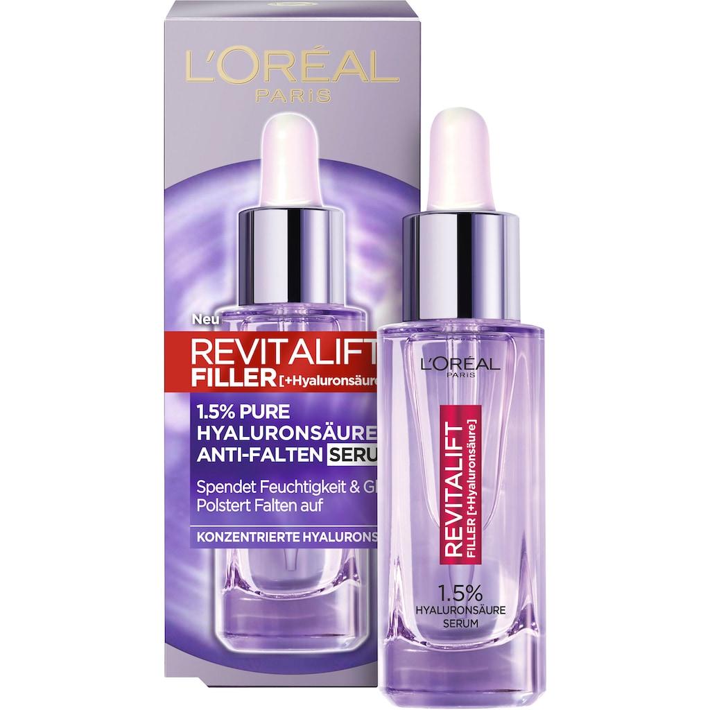 L'ORÉAL PARIS Gesichtspflege-Set »Revitalift Filler«, (2 tlg.), mit Maske und Hyaluron-Serum
