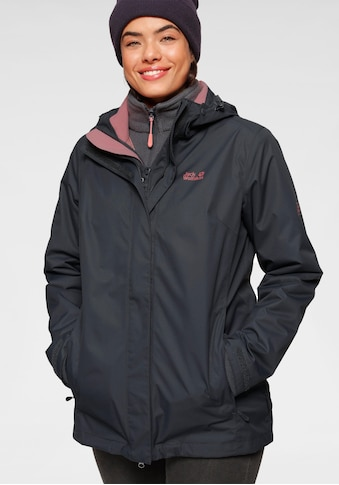 Jack Wolfskin 3 - in - 1 - Funktionsjacke »3in1 ROSS ICE JACKET« (Set, 2 tlg.) kaufen