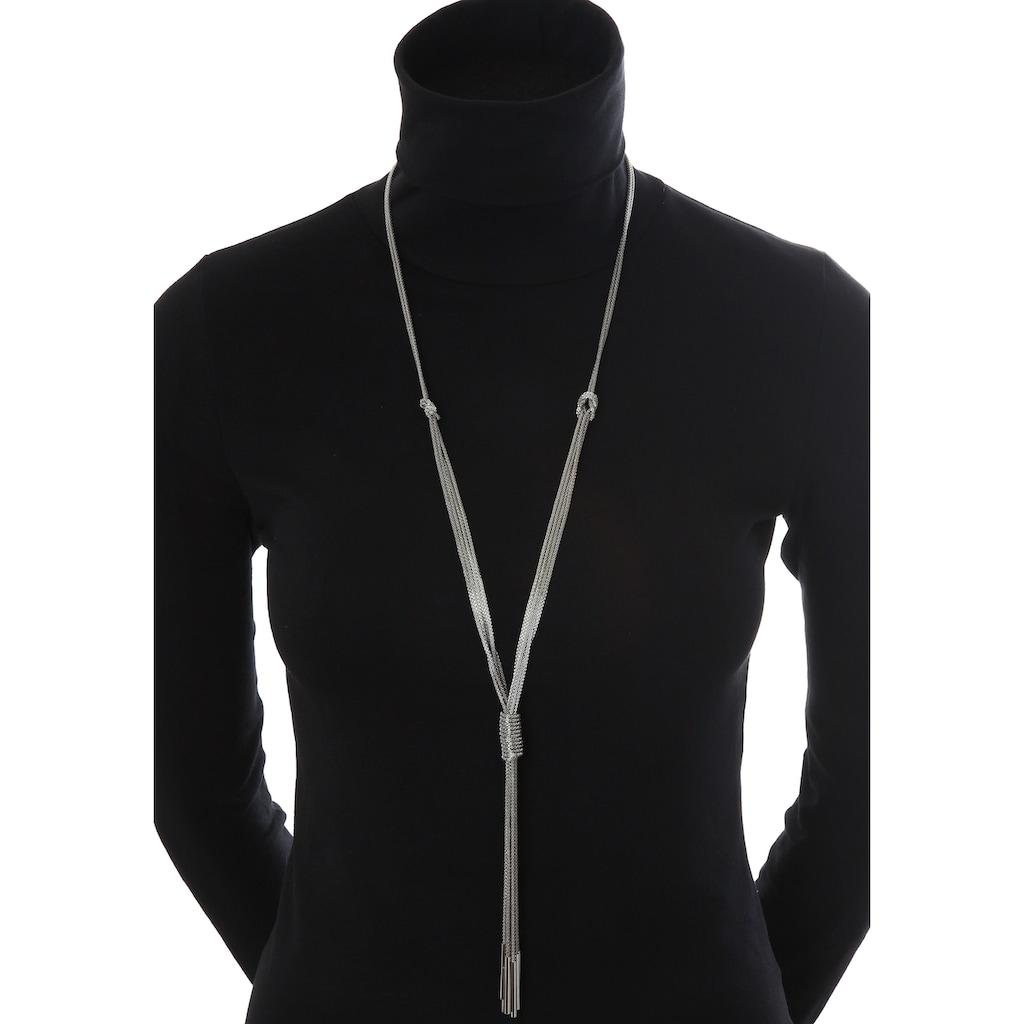 J.Jayz Lange Kette »mehrreihige Kette in Y-Form mit langem Behang«