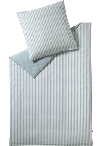Esprit Wendebettwäsche »Herringbone«, mit Fischgrät-Muster kaufen