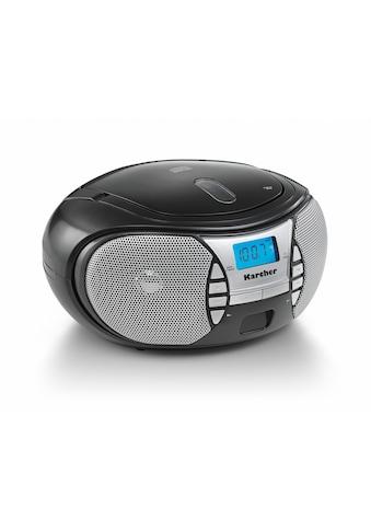 Karcher CD-Radiorecorder »RR 5025-B«, (CD 2.2 W) kaufen