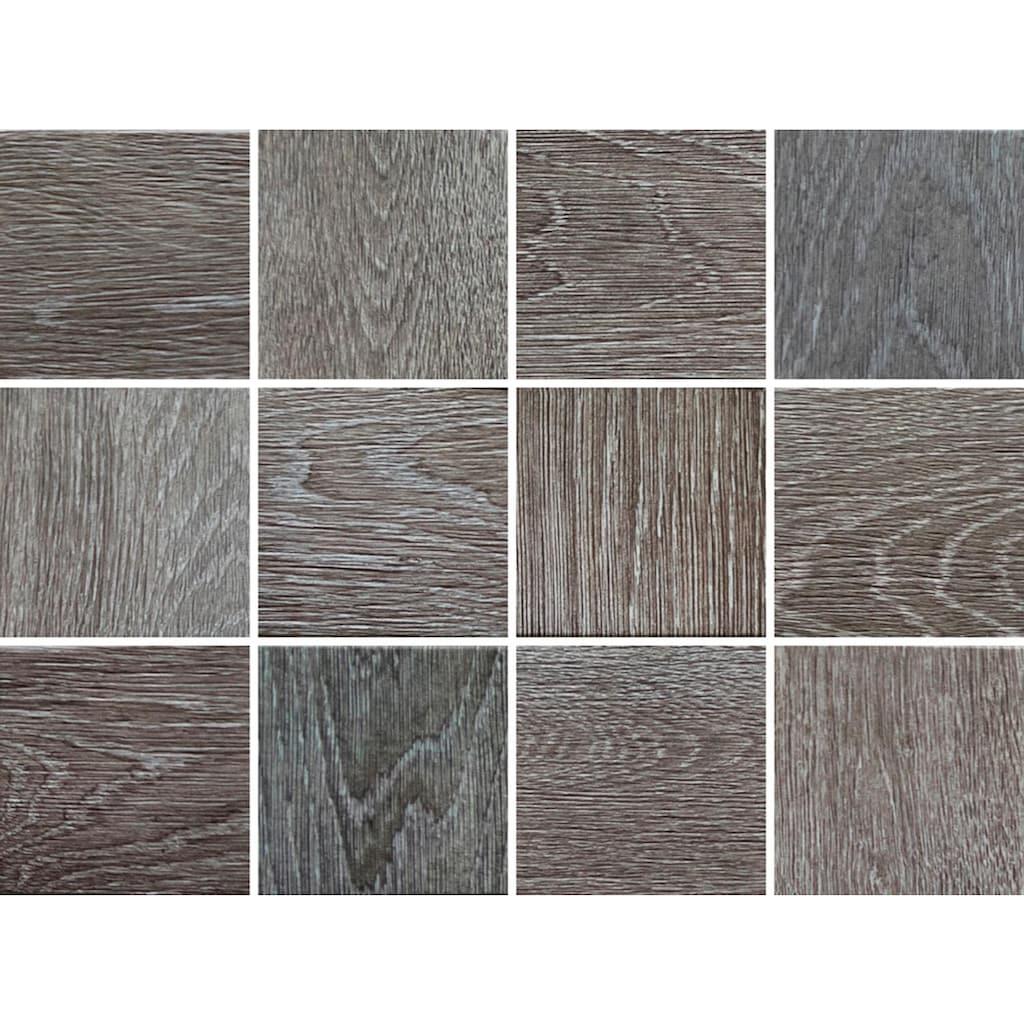queence Fliesenaufkleber »Holzoptik«