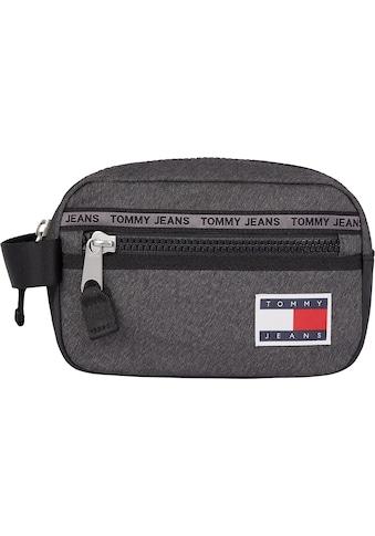 Tommy Jeans Kosmetiktasche »TJM CASUAL WASHBAG MELANGE«, im praktischem Format kaufen