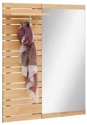 Home affaire Garderobenpaneel »Jossy«, mit Spiegel, Breite 90 cm kaufen